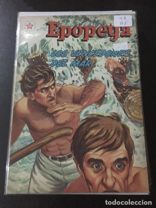 NOVARO EPOPEYA NUMERO 49 BUEN ESTADO (Tebeos y Comics - Novaro - Epopeya)