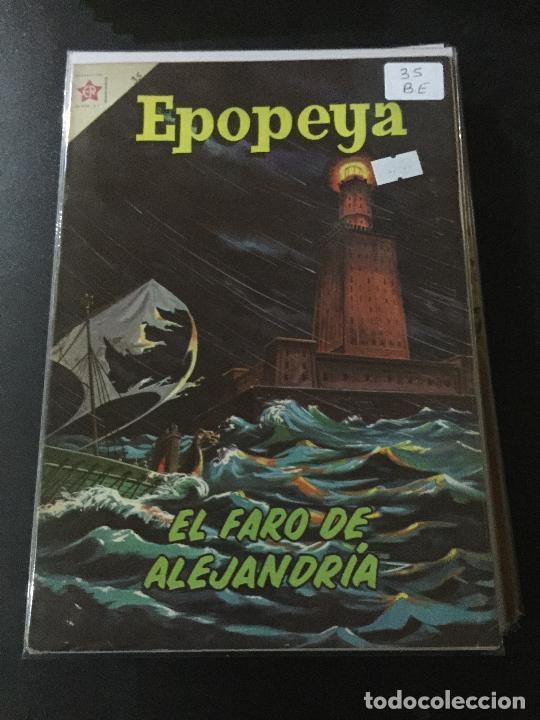 NOVARO EPOPEYA NUMERO 35 BUEN ESTADO (Tebeos y Comics - Novaro - Epopeya)