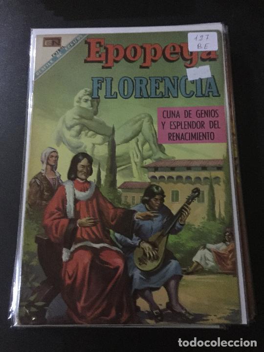 NOVARO EPOPEYA NUMERO 127 BUEN ESTADO (Tebeos y Comics - Novaro - Epopeya)