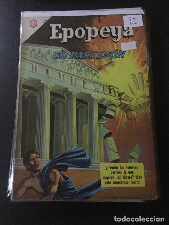 NOVARO EPOPEYA NUMERO 98 NORMAL ESTADO (Tebeos y Comics - Novaro - Epopeya)
