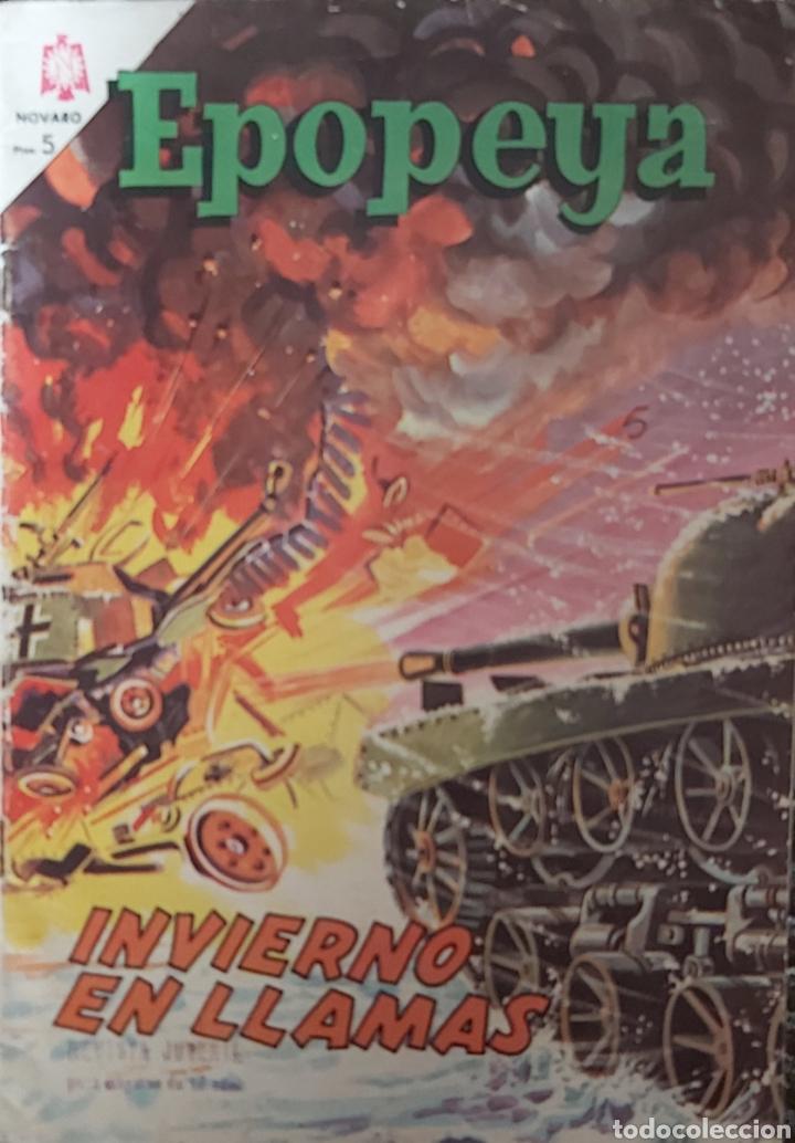 TEBEO DE NOVARO EPOPEYA INVIERNO EN LLAMAS (Tebeos y Comics - Novaro - Epopeya)
