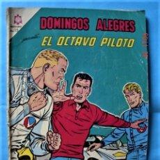 Tebeos: DOMINGOS ALEGRES. EL OCTAVO PILOTO. NÚMERO EXTRAORDINARIO. NOVARO Nº 621. Lote 226125310