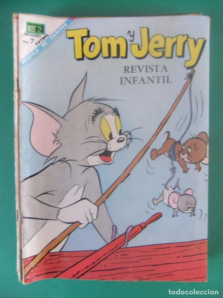 TOM Y JERRY Nº 254 EDITORIAL NOVARO (Tebeos y Comics - Novaro - Tom y Jerry)