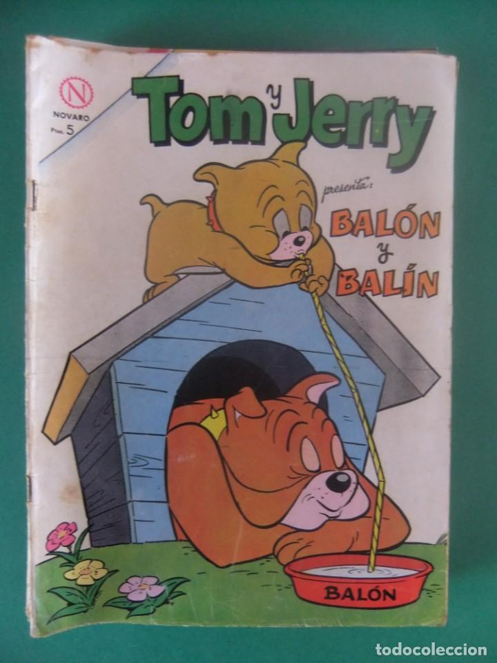 TOM Y JERRY Nº 209 EDITORIAL NOVARO (Tebeos y Comics - Novaro - Tom y Jerry)