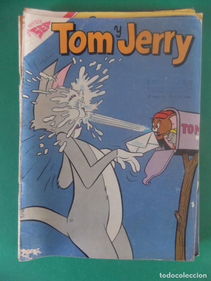 TOM Y JERRY Nº 105 EDITORIAL NOVARO (Tebeos y Comics - Novaro - Tom y Jerry)