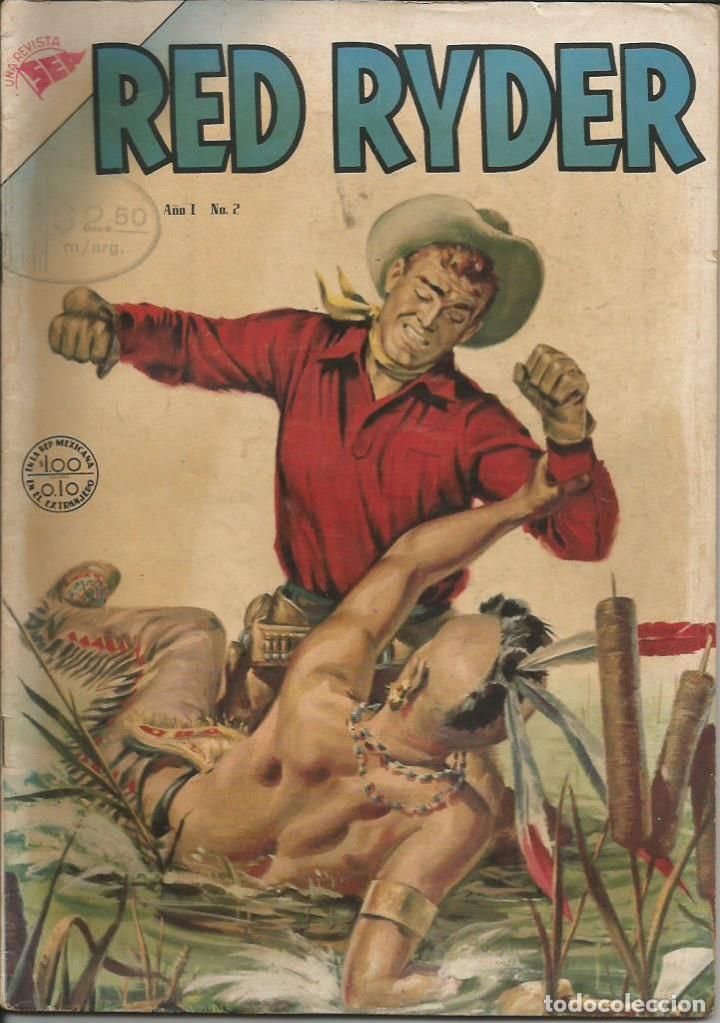 RED RYDER NOVARO NÚMERO 2 AÑO 1954 LEER DESCRIPCIÓN (Tebeos y Comics - Novaro - Red Ryder)