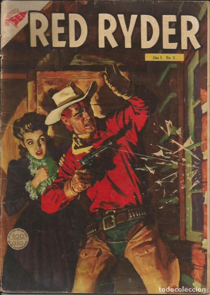 RED RYDER NOVARO NÚMERO 3 AÑO 1955 LEER DESCRIPCIÓN (Tebeos y Comics - Novaro - Red Ryder)