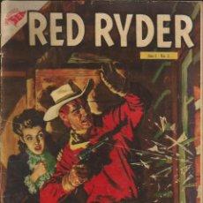 Tebeos: RED RYDER NOVARO NÚMERO 3 AÑO 1955. Lote 226260057