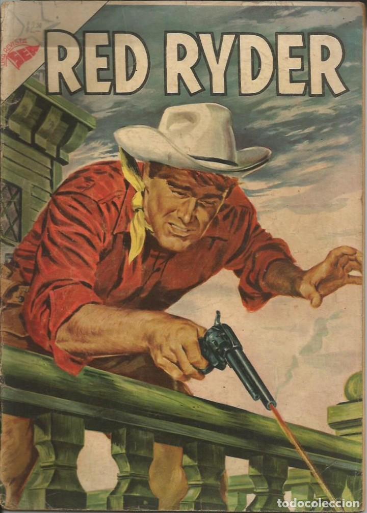 RED RYDER NOVARO NÚMERO 8 AÑO 1955 LEER DESCRIPCIÓN (Tebeos y Comics - Novaro - Red Ryder)