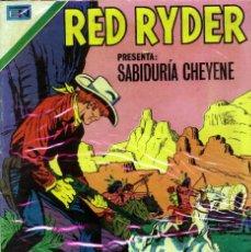 Tebeos: RED RYDER NOVARO NÚMERO 166 AÑO 1967. Lote 226263081