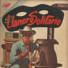 Tebeos: EL LLANERO SOLITARIO NOVARO NÚMERO 45 AÑO 1956. Lote 226270500