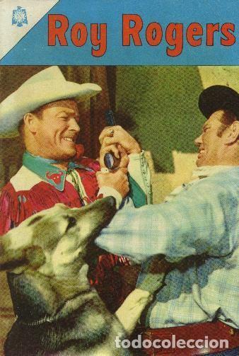 ROY ROGERS NOVARO NÚMERO 166 AÑO 1966 (Tebeos y Comics - Novaro - Roy Roger)