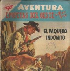 Tebeos: AVENTURA EPOPEYAS DEL OESTE NÚMERO 72 AÑO 1958. Lote 226274355