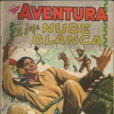 Tebeos: AVENTURA EL JEFE NUBE BLANCA NÚMERO 108 AÑO 1959. Lote 226274715