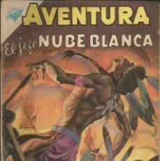 Tebeos: AVENTURA EL JEFE NUBE BLANCA NÚMERO 129 AÑO 1960. Lote 226274846