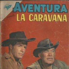 Tebeos: AVENTURA LA CARAVANA NÚMERO 166 AÑO 1961. Lote 226275062