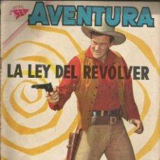 Tebeos: AVENTURA LALEY DEL REVOLVER NÚMERO 220 AÑO 1962. Lote 226275845