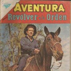 Tebeos: AVENTURA REVOLVER A LA ORDEN NÚMERO 292 AÑO 1963. Lote 226276650