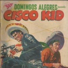 Tebeos: DOMINGOS ALEGRES CISCO KID NÚMERO 228 AÑO 1958. Lote 226277180