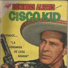 Tebeos: DOMINGOS ALEGRES CISCO KID NÚMERO 296 AÑO 1959. Lote 226277280