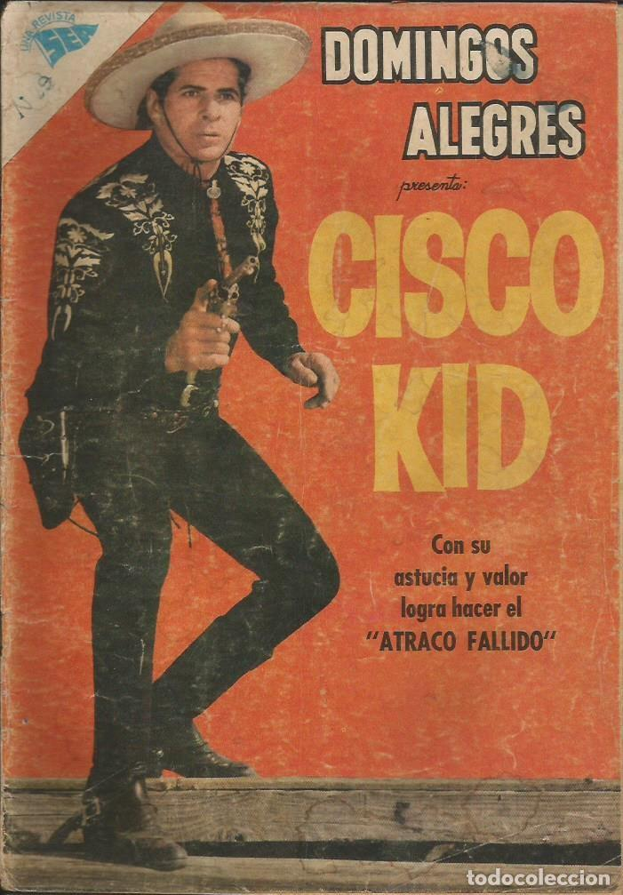 DOMINGOS ALEGRES CISCO KID NÚMERO 306 AÑO 1960 (Tebeos y Comics - Novaro - Domingos Alegres)