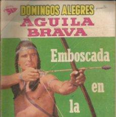 Tebeos: DOMINGOS ALEGRES AGUILA BRAVA NÚMERO 273 AÑO 1959. Lote 226277565