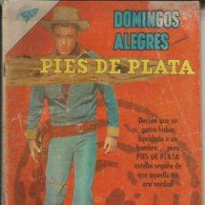 Tebeos: DOMINGOS ALEGRES PIES DE PLATA NÚMERO 356 AÑO 1961. Lote 226277875