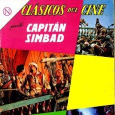 Tebeos: CLASICOS DEL CINE CAPITAN SIMBAD NÚMERO 114 AÑO 1964. Lote 226278255