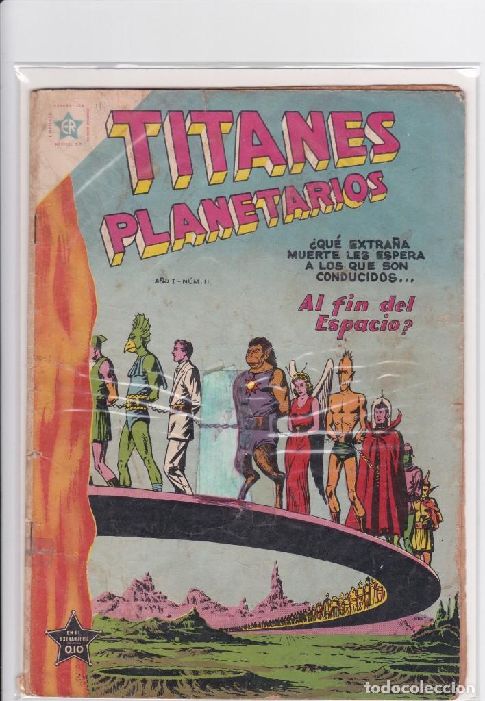 Tebeos: TITANES PLANETARIOS 11. AÑO 1954. NOVARO. MUY DIFÍCIL - Foto 8 - 226424965