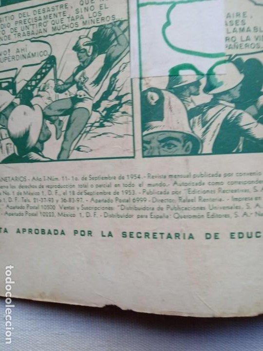 Tebeos: TITANES PLANETARIOS 11. AÑO 1954. NOVARO. MUY DIFÍCIL - Foto 2 - 226424965