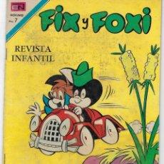 Tebeos: FIX Y FOXI - AÑO VIII - Nº 95 - AGOSTO 16 DE 1971*** EDITORIAL NOVARO ***. Lote 226455615