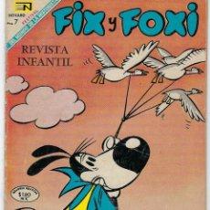 Tebeos: FIX Y FOXI - AÑO VI - Nº 72 - SEPTIEMBRE 1º DE 1969 *** EDITORIAL NOVARO ***. Lote 226456262