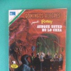 Tebeos: DOMINGOS ALEGRES Nº 2-1304 RIPLEY AUNQUE USTED NO SE LO CREA NOVARO. Lote 226459605