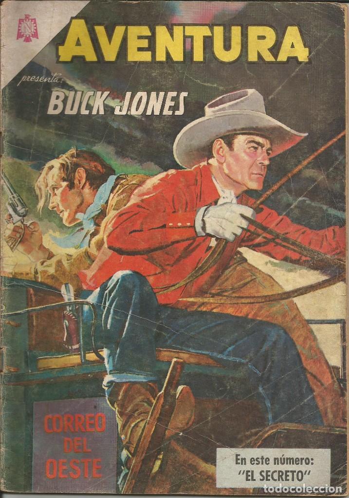 AVENTURA BUCK JONES NUMERO 349 1964 LEER DESCRIPCIÓN (Tebeos y Comics - Novaro - Aventura)