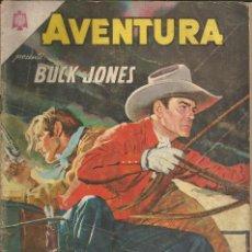 Tebeos: AVENTURA BUCK JONES NUMERO 349 1964 LEER DESCRIPCIÓN. Lote 226917530