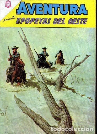 AVENTURA EPOPEYAS DEL OESTE NUMERO 402 1965 LEER DESCRIPCIÓN (Tebeos y Comics - Novaro - Aventura)