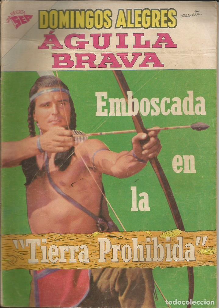 DOMINGOS ALEGRES AGUILA BRAVA NÚMERO 273 AÑO 1959 (Tebeos y Comics - Novaro - Domingos Alegres)