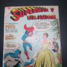 Tebeos: SUPERMAN Y SUS AMIGOS (1956, ER / NOVARO) 20 · 1956. Lote 227221140