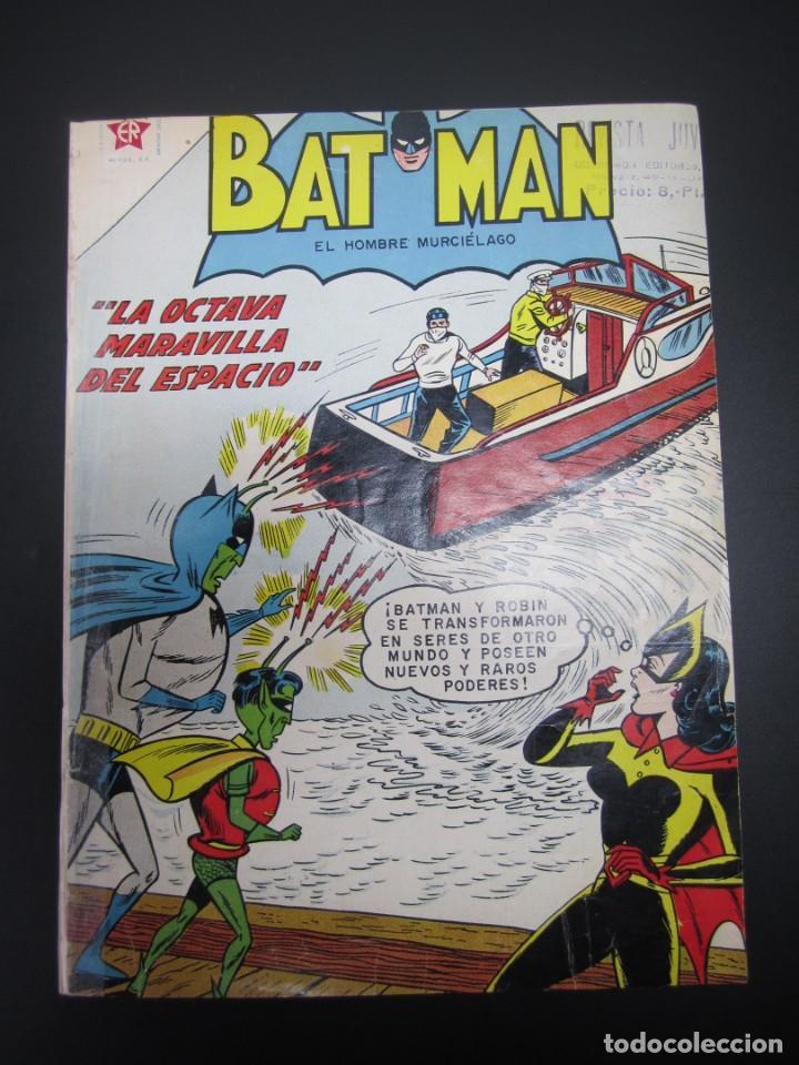 BATMAN (1954, ER / NOVARO) 111 · 1-I-1962 · BATMAN. EL HOMBRE MURCIÉLAGO (Tebeos y Comics - Novaro - Batman)