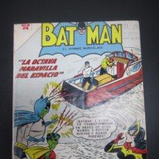 Tebeos: BATMAN (1954, ER / NOVARO) 111 · 1-I-1962 · BATMAN. EL HOMBRE MURCIÉLAGO. Lote 227229055