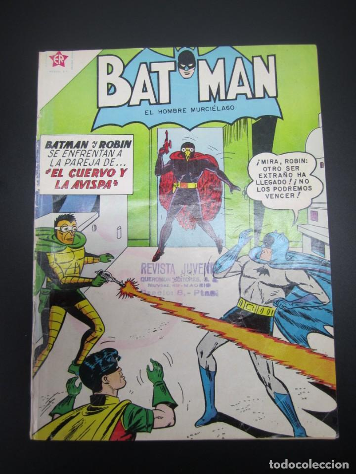 BATMAN (1954, ER / NOVARO) 106 · 15-X-1961 · BATMAN. EL HOMBRE MURCIÉLAGO (Tebeos y Comics - Novaro - Batman)