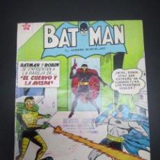 Tebeos: BATMAN (1954, ER / NOVARO) 106 · 15-X-1961 · BATMAN. EL HOMBRE MURCIÉLAGO. Lote 227229910