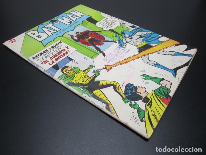 Tebeos: BATMAN (1954, ER / NOVARO) 106 · 15-X-1961 · BATMAN. EL HOMBRE MURCIÉLAGO - Foto 3 - 227229910