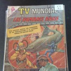 Tebeos: NOVARO TV MUNDIAL NUMERO 58 NORMAL ESTADO. Lote 227485445