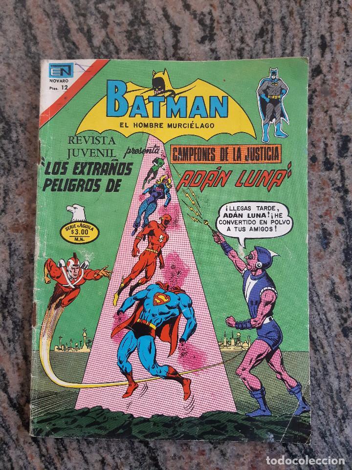 COMIC BATMAN NUMERO 825. EDICIONES NOVARO SERIE AGUILA. 1976. (Tebeos y Comics - Novaro - Batman)