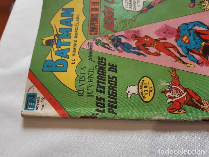 Tebeos: COMIC BATMAN NUMERO 825. EDICIONES NOVARO SERIE AGUILA. 1976. - Foto 4 - 227684485