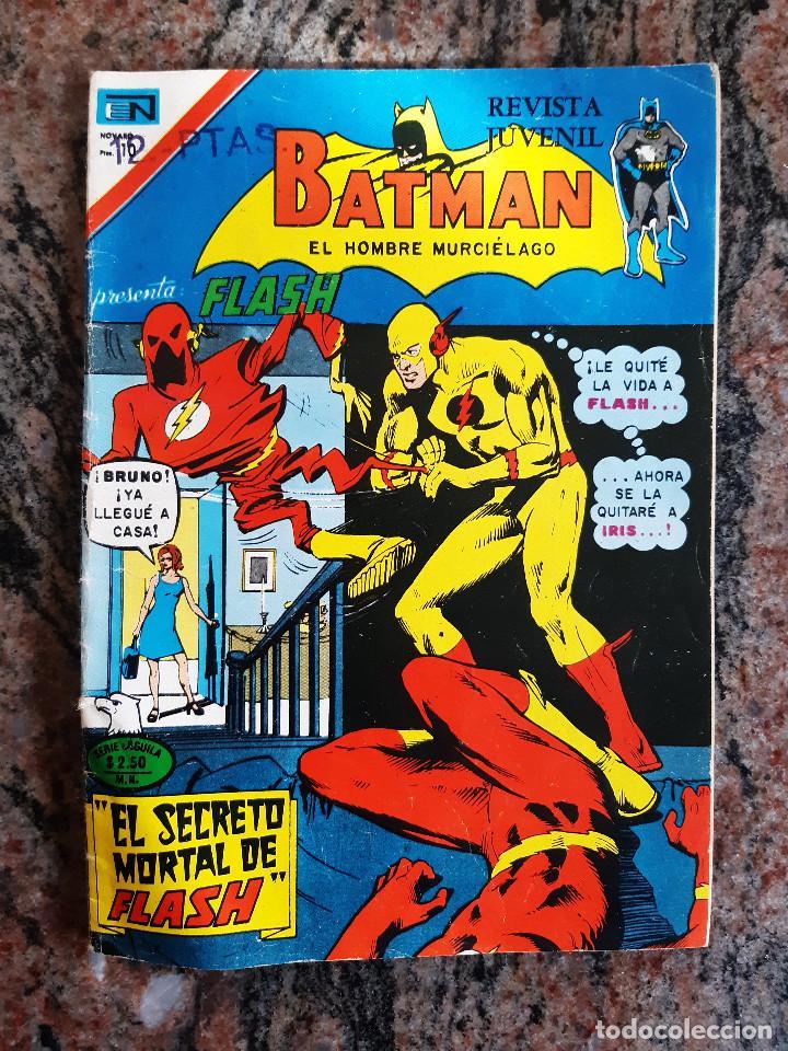 COMIC BATMAN NUMERO 802. EDICIONES NOVARO SERIE AGUILA. 1975. (Tebeos y Comics - Novaro - Batman)