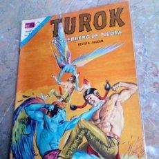 Livros de Banda Desenhada: TUROK Nº 55 NOVARO MUY DIFÍCIL Y MÁS EN ESTE ESTADO. Lote 227724697