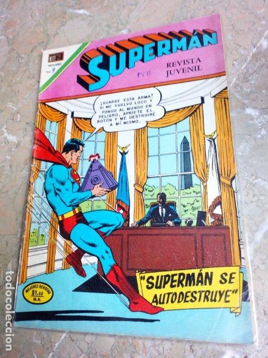 SUPERMÁN Nº 830 NOVARO (Tebeos y Comics - Novaro - Superman)