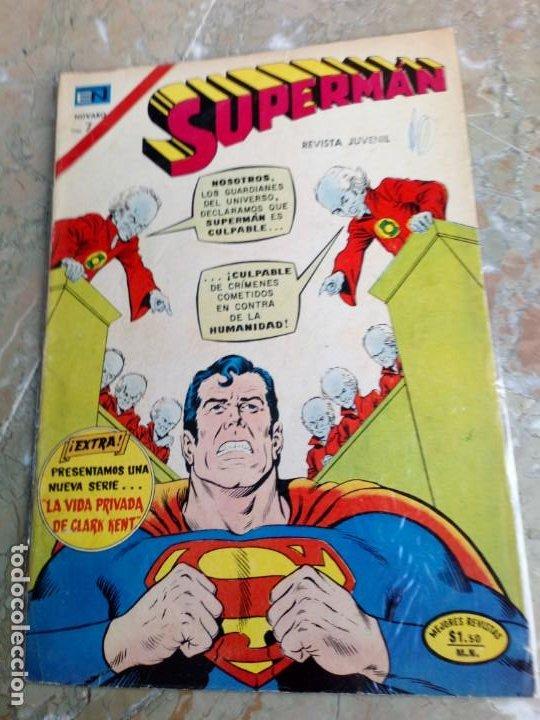 SUPERMÁN Nº 931 NOVARO (Tebeos y Comics - Novaro - Superman)